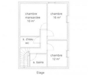 PlanLeBucher-Etage