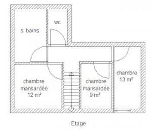 PlanLaVoliere-Etage